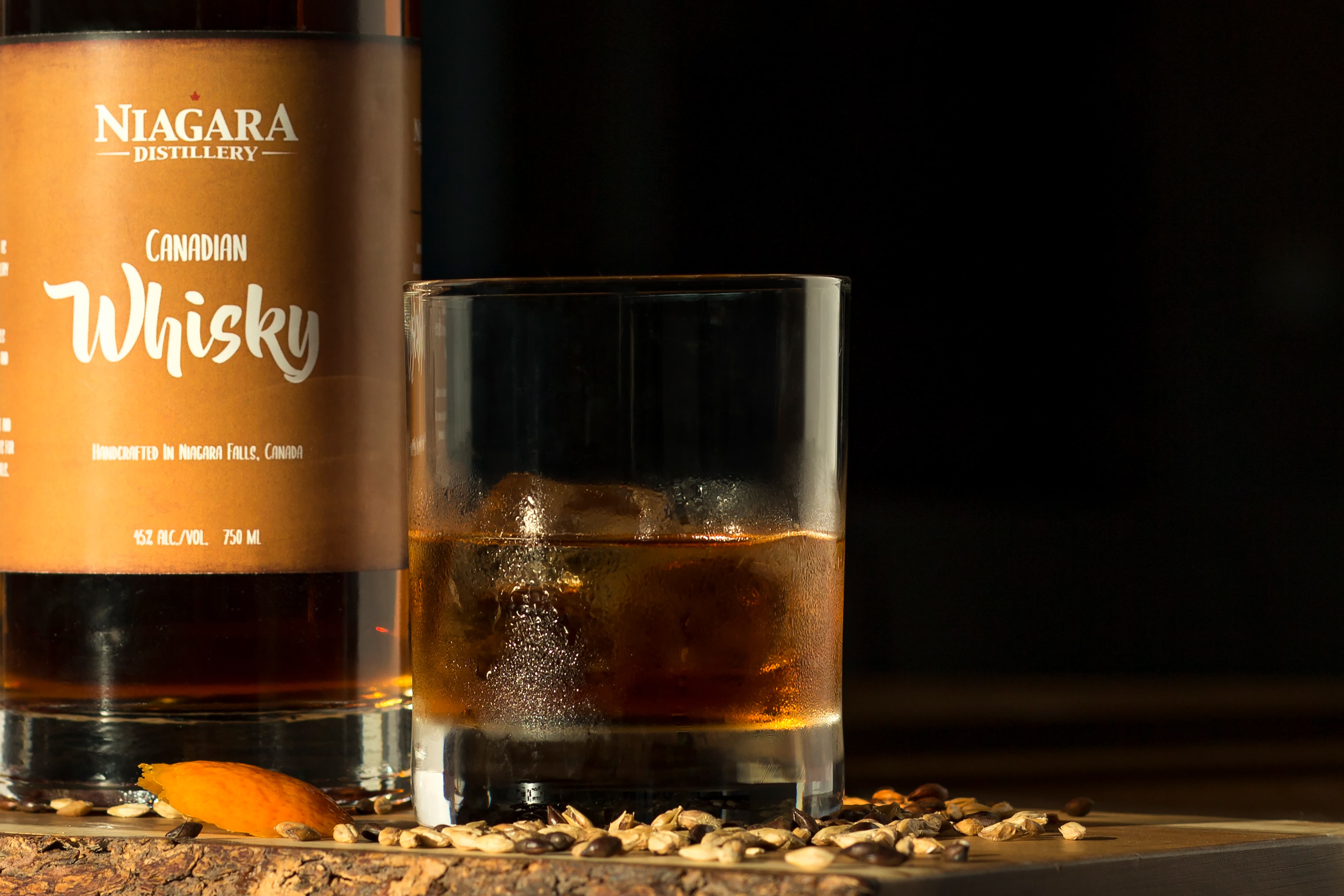 Niagara Distillery Whisky Glass